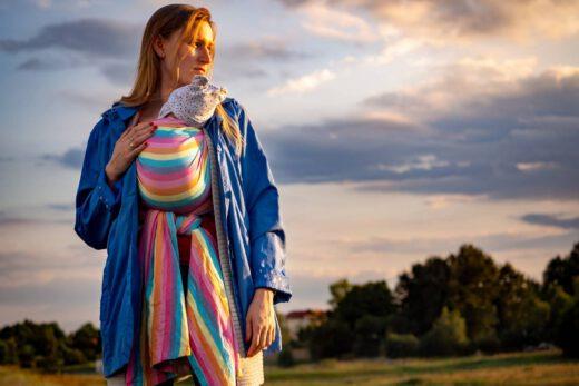 Jak zakładać chusty do noszenia dzieci?